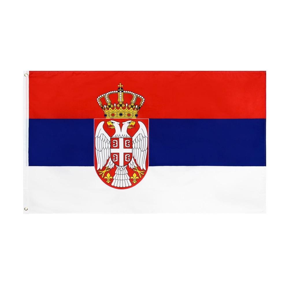 Xiangying 90x150 см SRB RS Республика Srbija флаг Польши