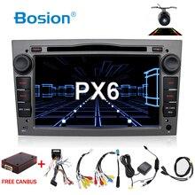 PX6 4G + 64G Android 2 Din Auto DVD Autoradio Navigation WIFI BT Für Vauxhall Opel Astra H G Vectra Antara Zafira Corsa Multimedia