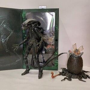 Большая фигура Chap Alien Ultimate Edition включает в себя яичный каштаны Facehugger Alien фигурку подвижная фигурка коллекция игрушек