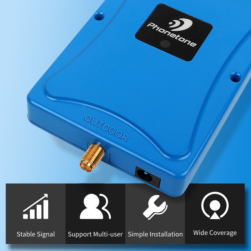 Specially for Russia DCS 2g 1800mhz Tele2 4G repeater amplifier 2g Tele2 3g 4g cellular signal booster signal repeater amplifier in Signal Boosters from Cellphones Telecommunications