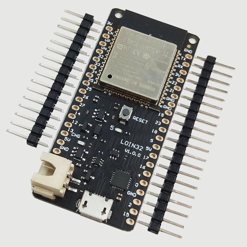 Для WeMos мини D1 LOLIN32 ESP32 Wi-Fi Bluetooth Беспроводной модуль макетная плата CP2104 ESP-WROOM-32 двухъядерный Процессор модуль флэш-памяти объемом 4 Мб