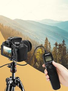 SHOOT Remote-Control Timer Shutter-Release RS-60E3 550D 1100D 500D 350D Canon 750D 700D