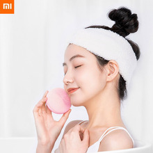 Stock Xiaomi Mi Sonic Silicone Brush Electric Facial Cleanser Waterproof IPX7 Type-C Port 5200 Rpm Dustproof For Girl