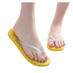 Casual Shoes Slipper Flip-Flops Women Summer Beach Dot Girl Simple -Nu