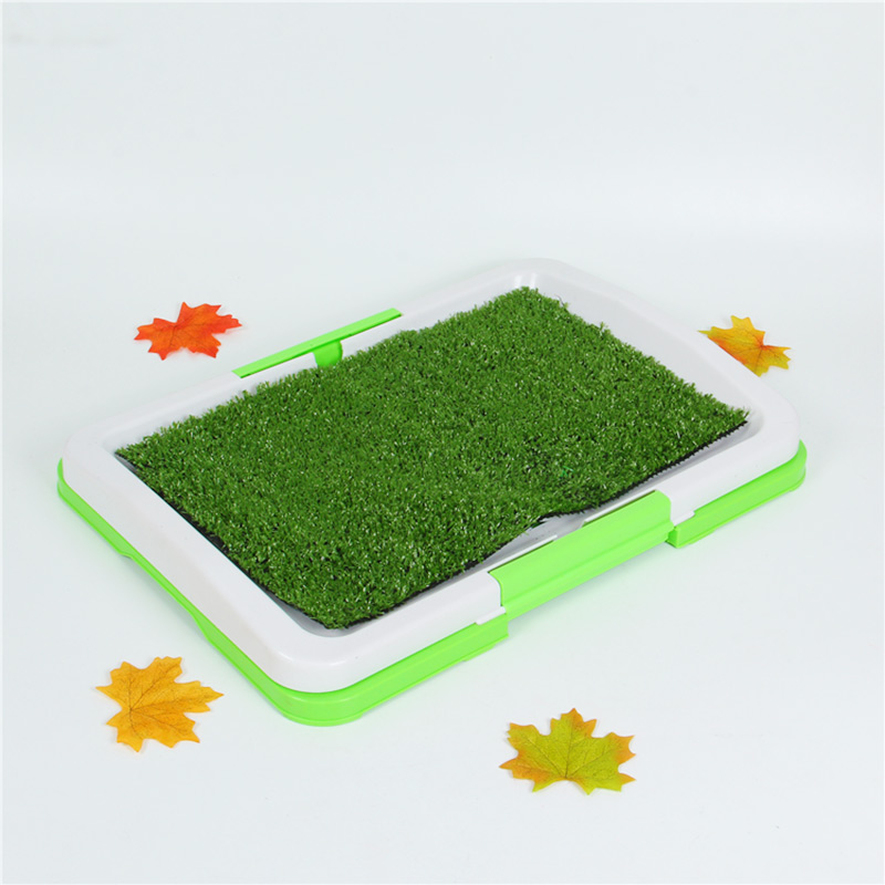 Pet Trainer Grass Mat Tray Pets Puppy Toilet Potty Urinary Pad Indoor Dog Cat And Dog Universal Litter House Mats