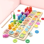 5 In 1 Wooden Toys f...