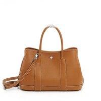 Genuine Leather Litchi Grain Party Big Fashion Tote Bags For Women Luxury High Quality Shoulder Bag Handbags Women Bags Designer