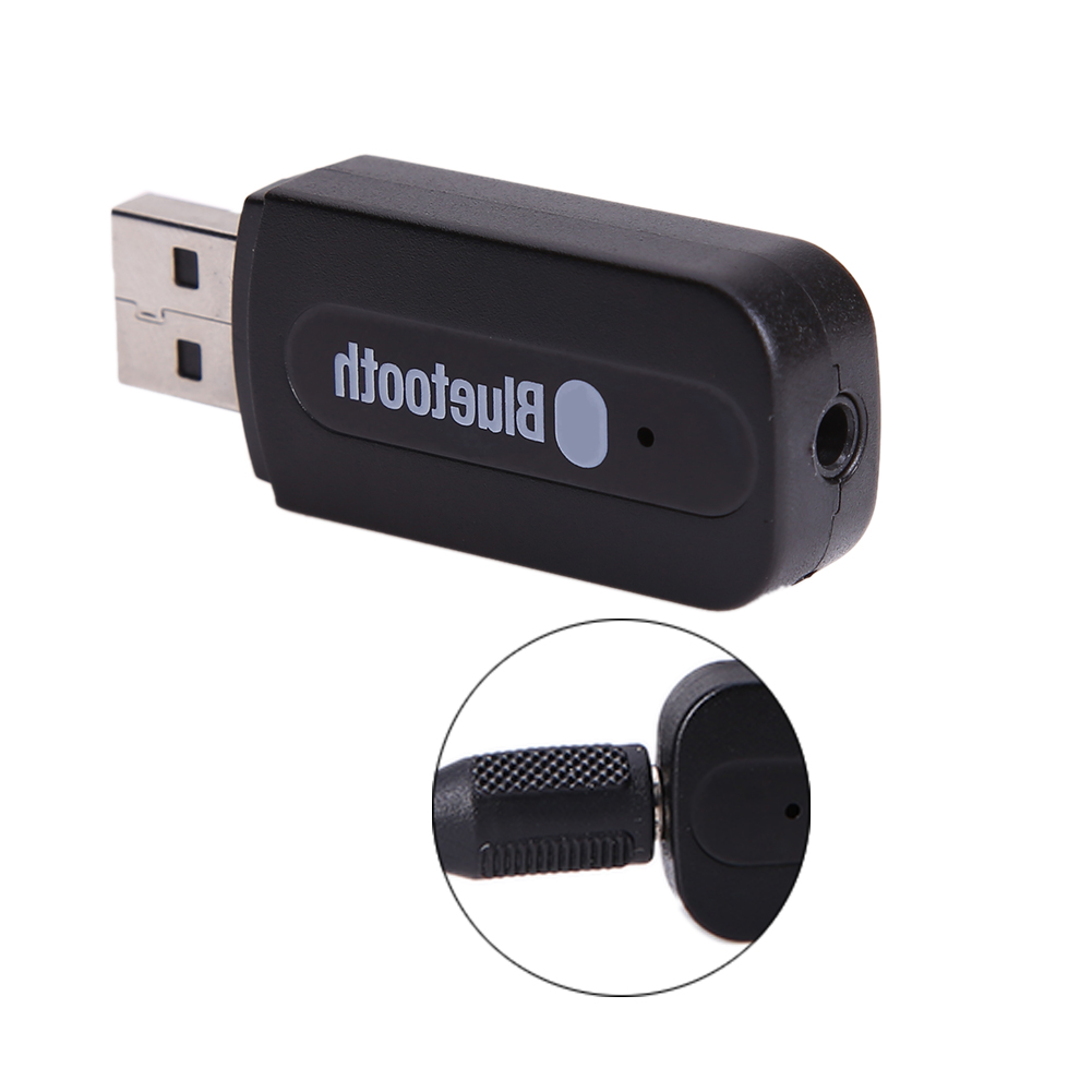 30cm Cable 3.5mm Stereo Audio Music Speaker Receiver USB Bluetooth Wireless Converter BT Adapter Dongle for iPhone/iPad/iTouch