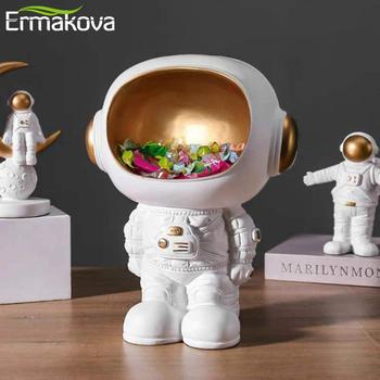 ERMAKOVA Nordic żywica astronauta statua kluczowe przechowywanie kreatywny salon astronauta figurka Organizer na biurko dekoracja wnętrz tanie i dobre opinie CN (pochodzenie) Z ludźmi Europejska Z żywicy Astronaut storage ornaments home decoration accessories home decor
