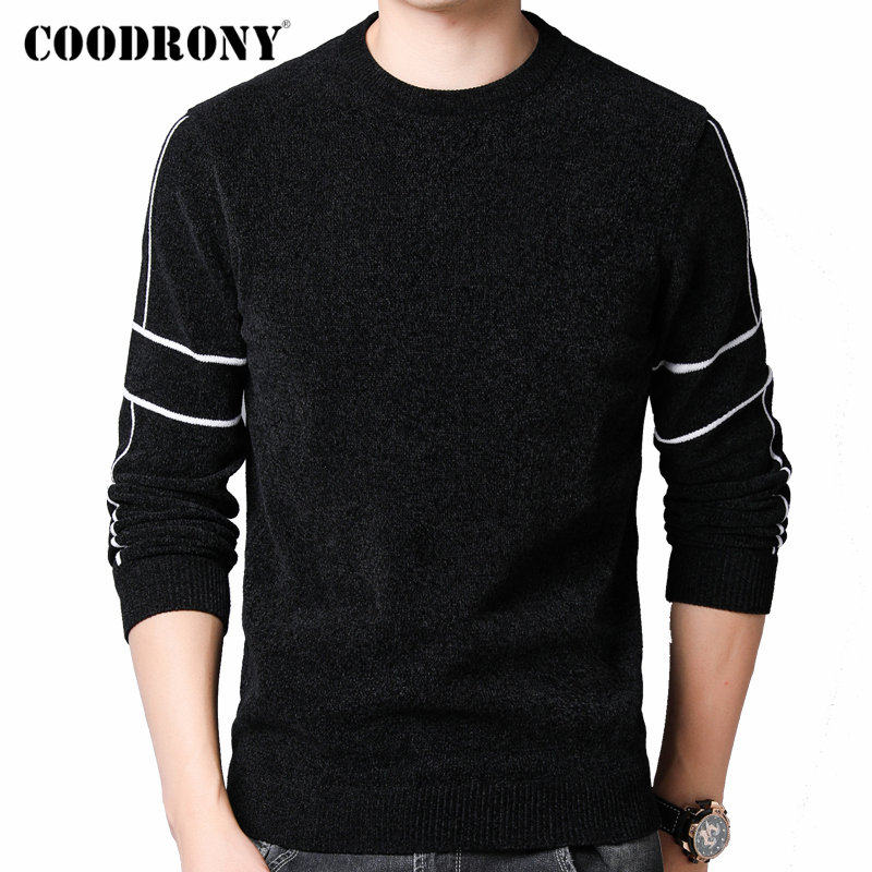 COODRONY Brand Sweater Men 2019 New Arrival Autumn Winter Thick Warm Pullover Men Streetwear Fashion Cotton Knitwear Pull 91095