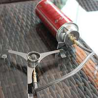 2019 new Picnic Camping Stove Split Converter Connector Gas Tank Adapter (fuel tank is not included) In Stock
