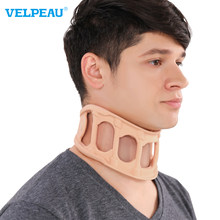 VELPEAU Neck Brece Cervical Support Neck Guard Household Cervical Fixed Support Physiotherapy Neck Strap Neck Brace Cover