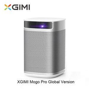 Xgimi mogo pro projetor imtv completo hd dlp mini bolso android 9.0 3d projetor led beamer para cinema em casa com bateria bluetooth