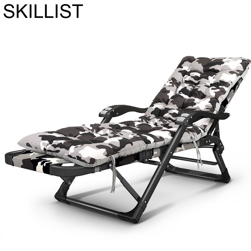 Tuinmeubelen Longue Cama Camping Bain Soleil Mobilier Chair Salon De Jardin Lit Folding Bed Outdoor Furniture Chaise Lounge