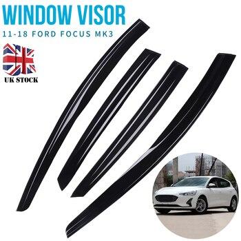 For Ford Focus mk3 2012-2018 4pcs Car Window Visor Rain Guard Cover Window Deflector Sun Visor Auto Rain Shade Shelter Mayitr цена 2017