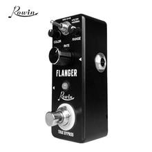 Rowin LN 312 klasik Analog Flanger gitar efekt Pedal gerçek Bypass alüminyum alaşım kabuk gitar aksesuarları gitar