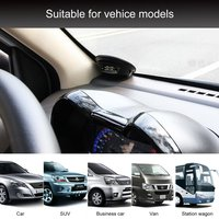 Touch Solar Wireless Tire Pressure Monitoring System TPMS with 4 External Sensors Audio Alarm Measuring Pressure/Temperature