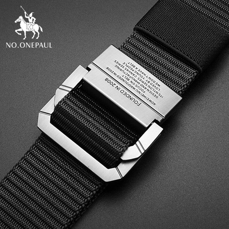 New Men Belt Breathable Military Tactical Belt Alloy Metal Buckle Adjustable Outdoor Soldier Training Hunting Waist Belt For Men