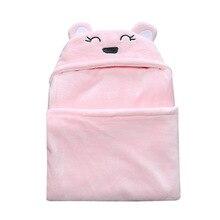 Baby Blanket Soft Winter Sleeping Bag Newborns Warm Sleepsacks Robe For Infant Envelope