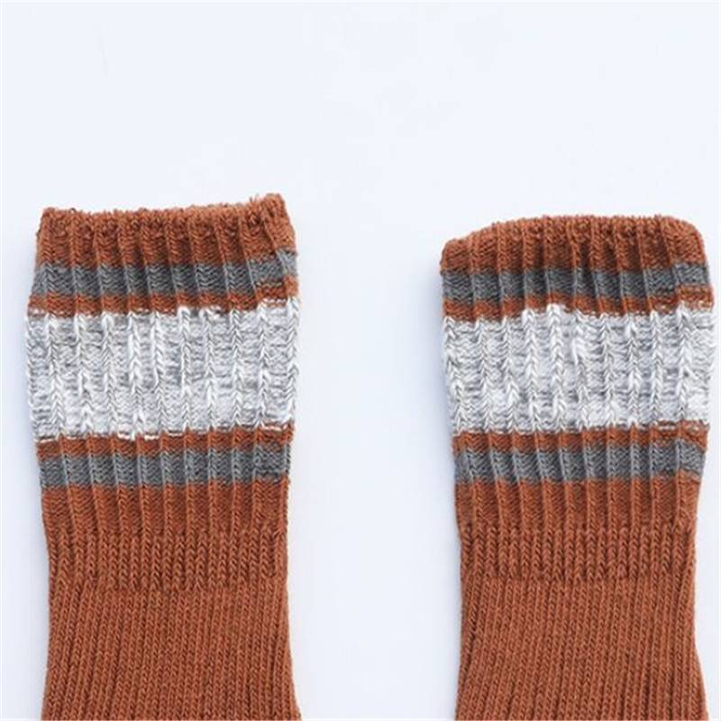 Children's Socks for Boy Woolen Knitted Socks for Girls Winter Thick Warm Knee Baby Socks Suitable for Snowing Leg Warmers 1-8Y 6