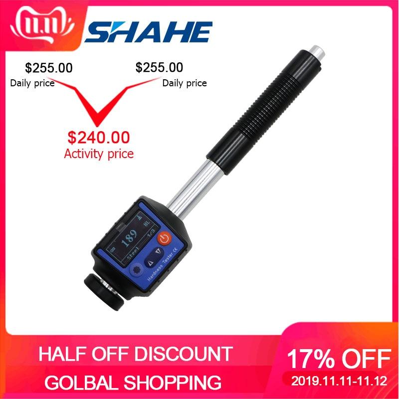 SHAHE Portable Pen-type Digital Leeb Hardness Tester Sclerometer Hardness Tester Durometer With DHL/FEDEX/TNT/UPS Shipping