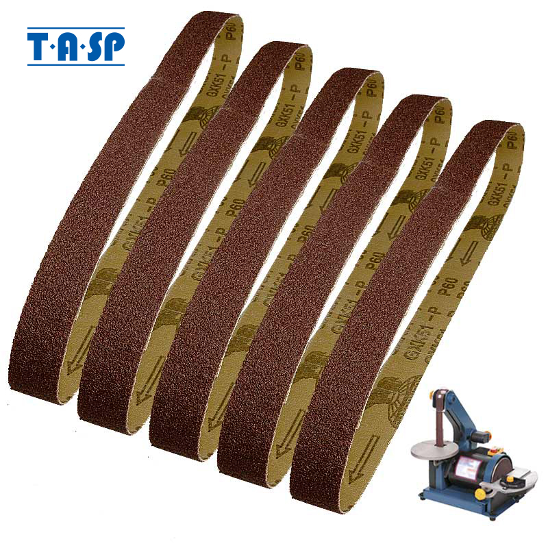Aluminium Oxide Price per 10 belts. P40 25mm x 760mm Sanding belts