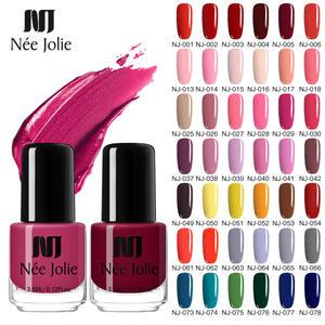 Ни Джоли 73 Цвет s однотонный Цвет лак для ногтей лак гибридный, Длительное Действие, Нейл-арт Декоративный Лак для ногтей 3,5 мл