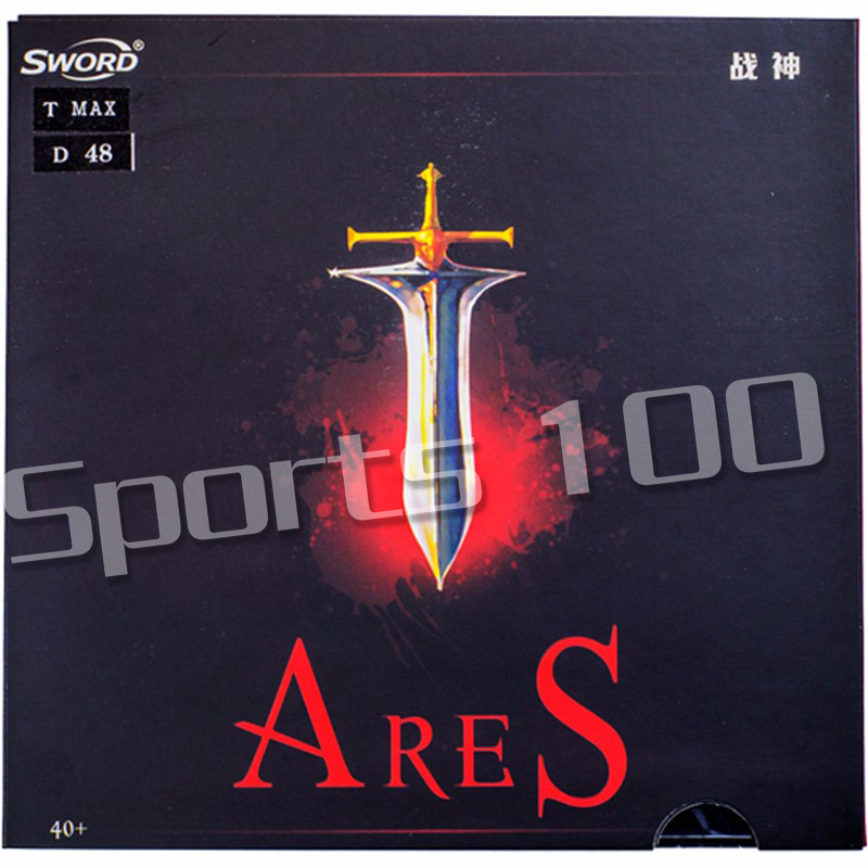 Sword Ares Pips-in Table Tennis Rubber With Cake Sponge For 40+ New Material Balls
