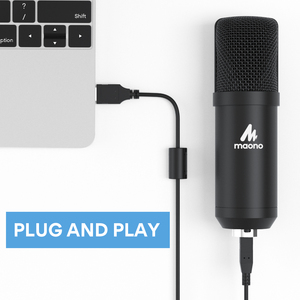 Image 4 - MAONO A04Plus USB Microphone Cardioid Condenser Podcast Microfono 192kHz/24bit Plug and Play With for Livestreaming YouTube ASMR