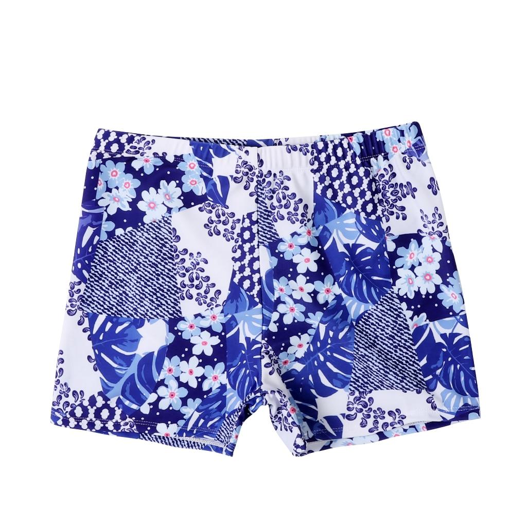 Новые плавки для маленьких мальчиков пляжные шорты для папы и меня Семейные пляжные шорты спортивный купальник Короткие штаны с цветочным рисунком - Габаритные размеры: Adult  XXL