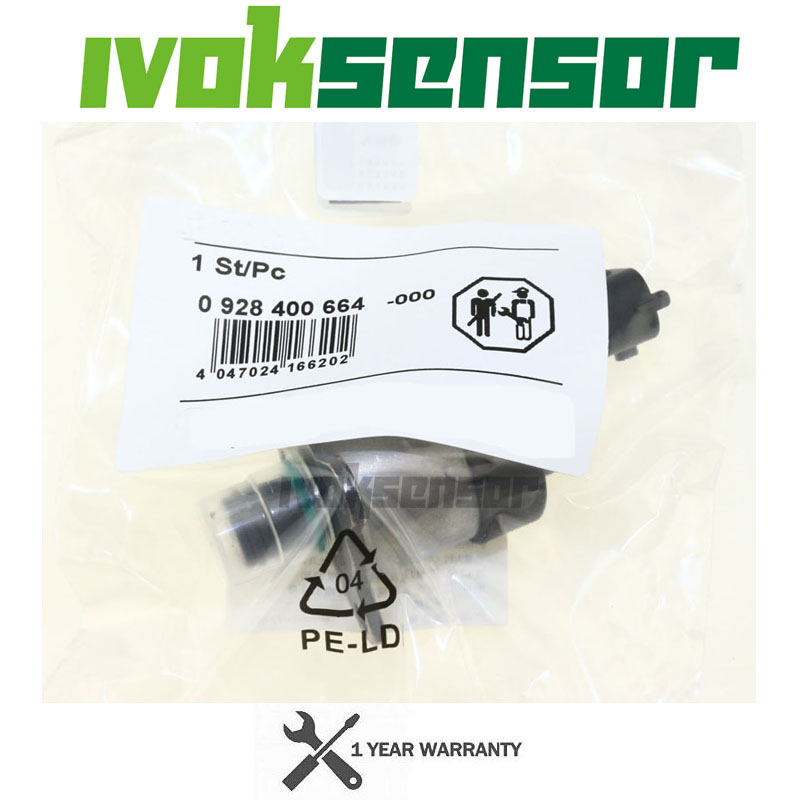 CR Fuel Injection Pump Regulator Metering Control Solenoid Valve For Peugeot <font><b>4007</b></font> 407 607 807 Citroen C5 C8 2.2 HDI 0928400664 image