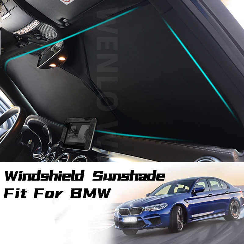 Car Interior Windshield Sunshade Block Anti Uv Cover For Bmw 1 2 3 5 Series F10 F18 F20 F30 F31 E60 E90 G28 Window Sun Protector Windshield Sunshades Aliexpress