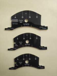 Image 5 - Violin bridge template, violin viola cello bridges multifunctional mold, bridges repair reference tool, violin parts