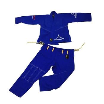 2020 brasileño Jiu Jitsu Gi BJJ Gi para los hombres y las mujeres luchando uniforme gi Kimonos la competencia profesional Judo traje