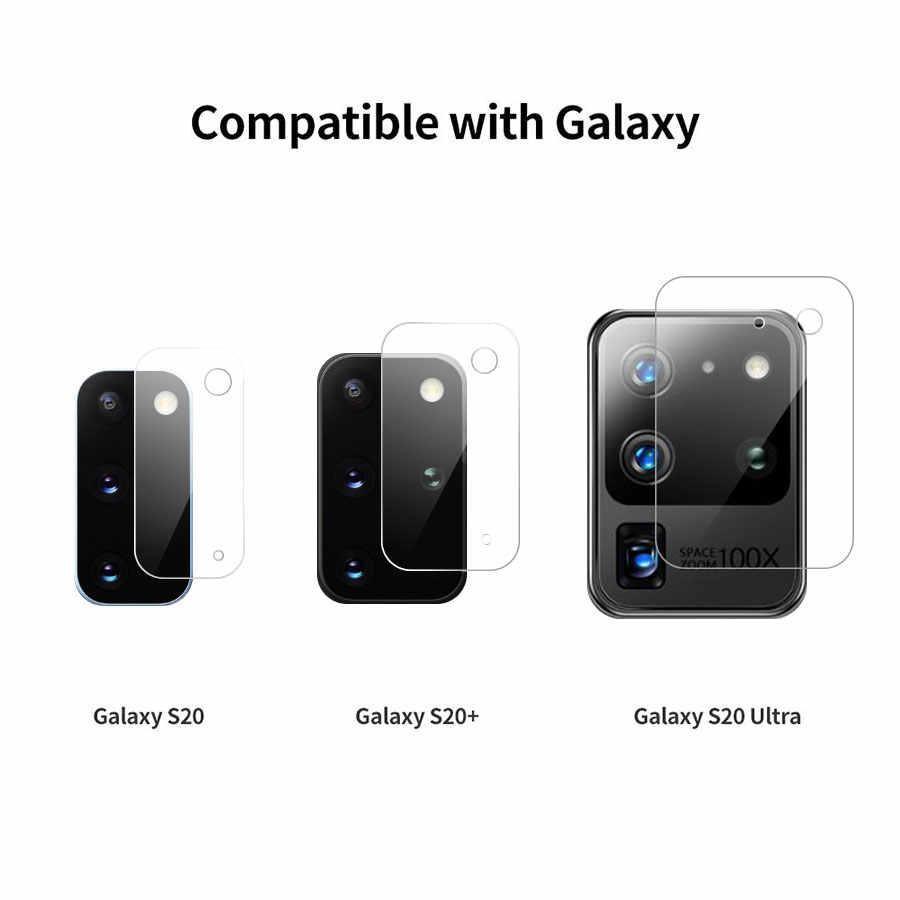 2In1 Ống Kính Kính Cường Lực Dành Cho Samsung Galaxy Samsung Galaxy A10 A20 A40 A50 A51 A70 A71 A20e A30s + Sợi Carbon miếng Dán Bảo Vệ Màn Hình