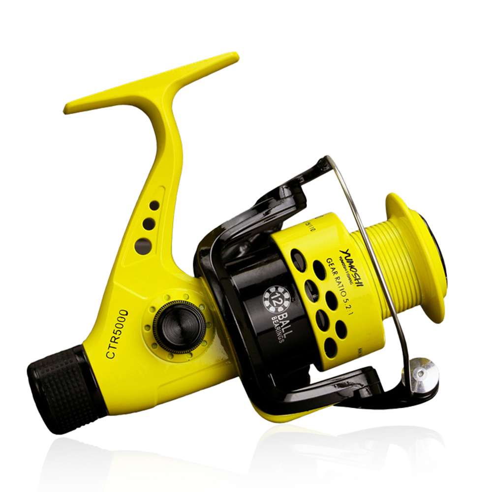 Fishing  12BB 2000-7000 series Spinning Wheel interchangeable arm spinning pesca peche fishing CTR