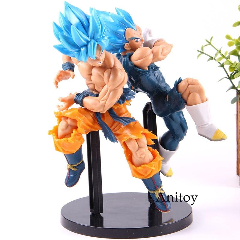 Hot Toy Dragon Ball Super Son Goku Vegeta Dragon Ball Tag Fighters Ver. Goku Vegeta PVC Action Figure Collectible Model Toy