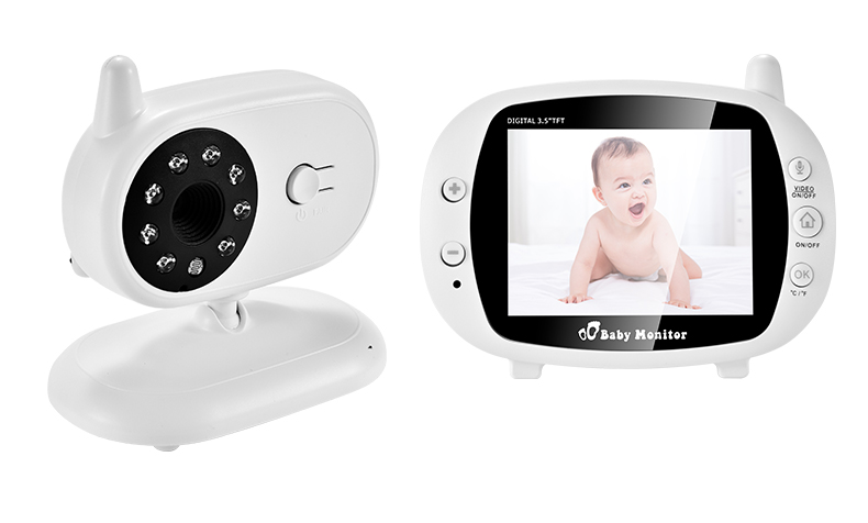 3 inch Baby Monitor With Security Night Vision Camera And a Voice Call For child Security 7