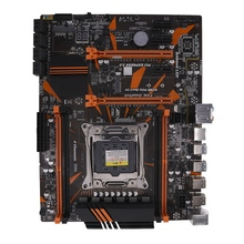 X99 LGA2011-3 Motherboard 4-Channel DDR4 2133/2400/2800 32G RAM NVME SSD M.2 SATA2.0 USB3.0 PCIE16X Slots for  I7 E5 CPU