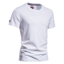 AIOPESON New Summer 100% Cotton T Shirt for Men Casual O-neck T-shirt Men Quality Solid Color Soft Home and Daily Men's T Shirts