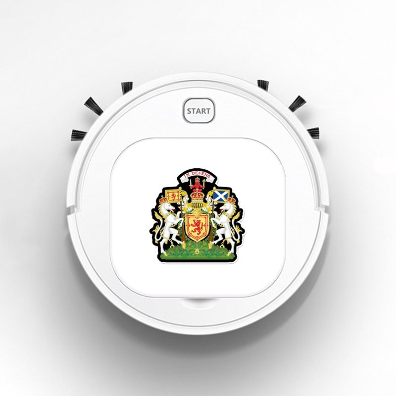 Robot Vacuum Cleaner Intelligent Automatic Mopping Clean Robot for Hard Floor Carpet SCOTLAND COAT OF ARMS