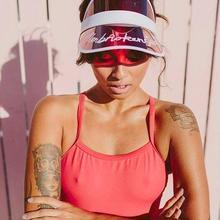 Летние Пластиковые кепки с козырьком, яркие цвета, модные мужские и женские шляпы для путешествий, УФ защитная шляпа от солнца, Пляжная Шляпа