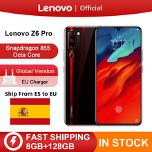 "Original Global Version Lenovo Z6 Pro Snapdragon 855 Octa Core 6.39"" FHD Display Smartphone Rear 48MP Quad Cameras"