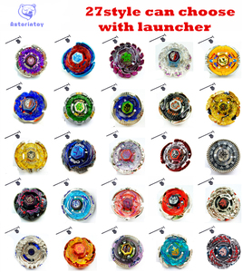 27 style can choose 1pcs blade Metal Fusion 4D System Battle Top Metal Fury Masters with Launcher BB105 BB119 BB120 BB122