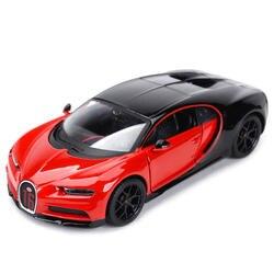 Maisto 1:24 Bugatti чугун спортивный автомобиль статическая литая модель сплава Модель автомобиля