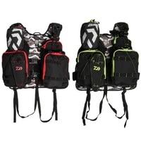 Adjustable Men Daiwa Outdoor Fishing Vest Fishing Clothes Fly Fishing Safety Life Jacket Multi Pockets Fishing Clothing