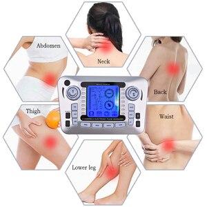 Image 4 - 20 livelli di Decine di Unità di Macchina con 10 Elettrodi per Alleviare Il Dolore di Massaggio di Impulso di SME Stimolazione Muscolare Del Corpo di Agopuntura di Massaggio