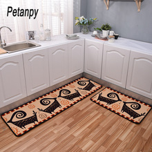 2019 Kitchen Mat Cheaper Anti-slip Modern Area Rugs Living Room Balcony Bathroom Carpet Set Doormat Bath in The Hallway
