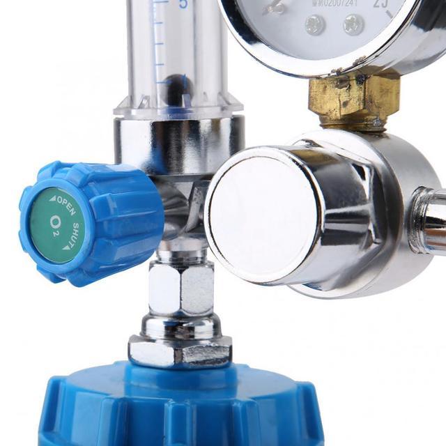 YH YX11A boja typu miernik inhalatora tlenu medyczne zawór redukcyjny Regulator G5 8 BSPP 0 ~ 10L min tanie i dobre opinie VBESTLIFE Hydraulika Oxygen inhaler 0-10L