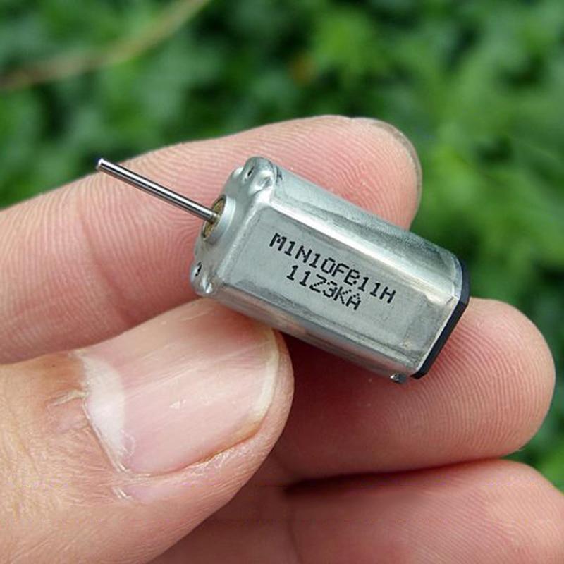 2PCS 12MM*15MM MNB N20 DC 6V-12V 33500RPM High Speed Micro Electric DC Toy Motor